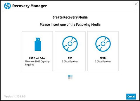 Options de supports