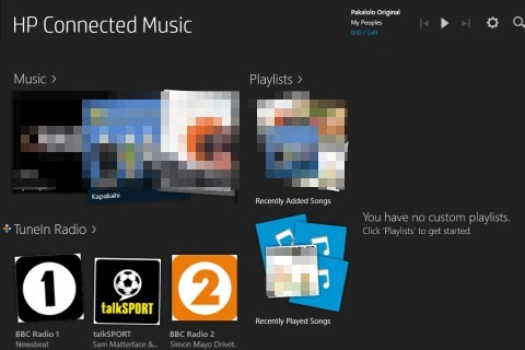 HP PCs - New HP Connected Music (Windows 8 1) | HP® Customer