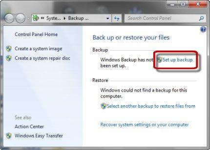 бэкап системы Windows 7 - фото 7