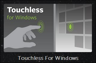 Touchless for Windows tile on the Airspace Home page
