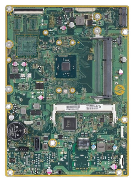 Molokai-U motherboard top view