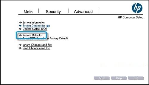 HP Notebook PCs - Cannot Start Notebook Computer From a