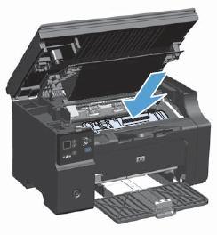 惠普一体机卡纸_HP LaserJet Pro M1136 激光一体机 - 清除卡纸 | HP®客户支持