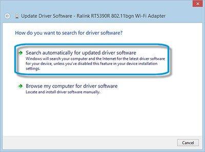 HP 2000-2b89WM Ralink WLAN Driver for Windows