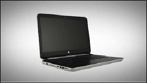 HP Pavilion 14-v000 notebook computer