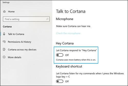 cortana microphone not working windows 10
