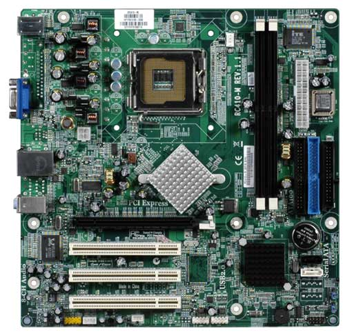 HP and Compaq Desktop PCs - Motherboard Specifications, RC410-M