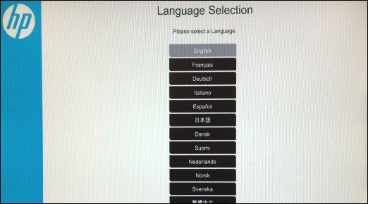 语言选择 UEFI