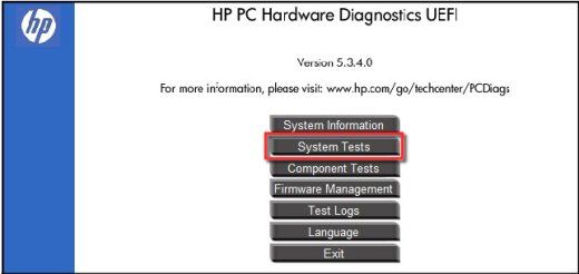 HP ENVY 23-d150 TouchSmart Hardware Diagnostics UEFI New