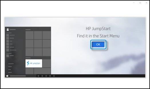 Fermeture de HP JumpStart