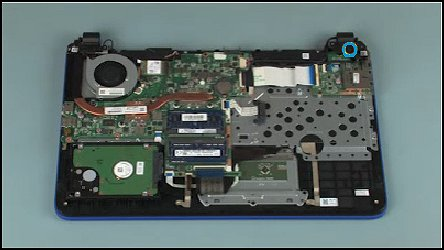 Remove And Replace The Power Button Board For Hp Pavilion