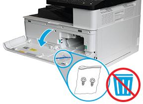 Hp Laserjet Mfp M433 M436 Quick Install Guide Qig Instructions