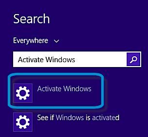 Search results for Activate Windows