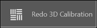 Redo the 3D calibration