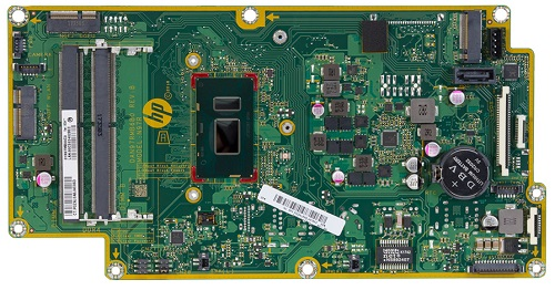 Tuscany-R motherboard top view
