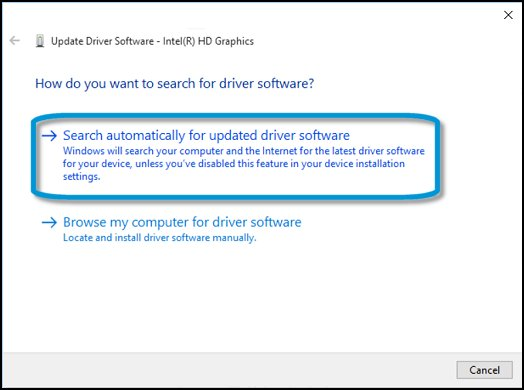 HP PCs - Downloading or Updating Software and Drivers | HP® Customer ... Search automatically for updated driver software for the graphics card
