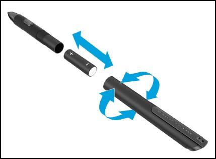 HP Executive Tablet Gen2 Pen- Setting up the HP Executive