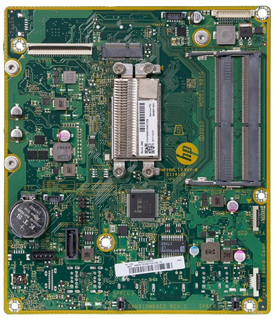 NihauU motherboard top view