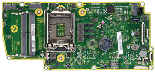 Apulia motherboard top view