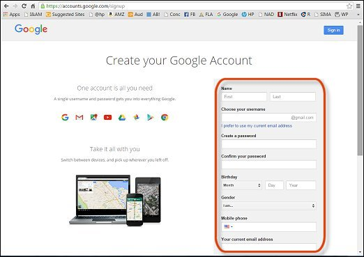 how to delete a google account off your computer