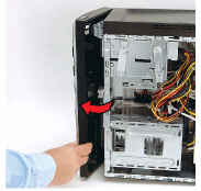 HP Desktop PCs - Opening a Stuck CD or DVD Drive Tray