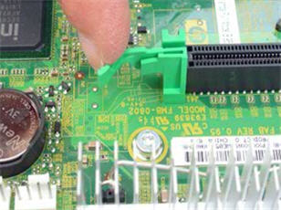 HP Z400 Workstation - Removing and Replacing the PCI card