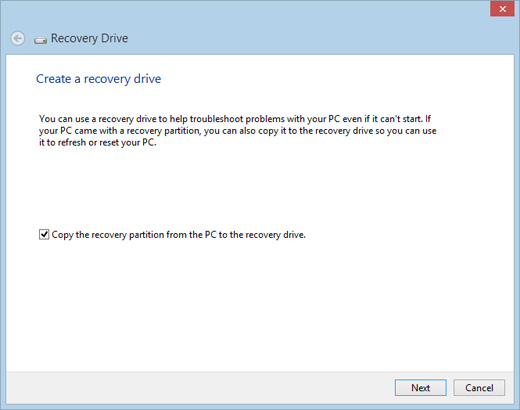 usb recovery drive windows 8 free download