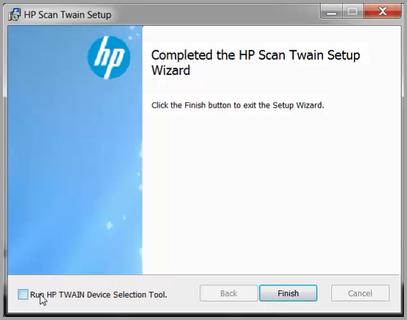 hp twain compliant scanners download
