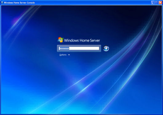 Windows Home Server Password