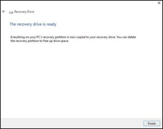 microsoft windows 10 usb recovery tool