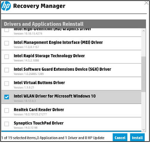 Reinstall Touchpad Driver Windows 10
