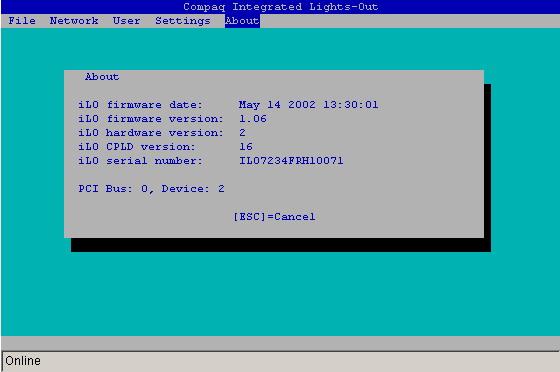 服务器集成 iLO 端口的配置 | HP®客户支持
