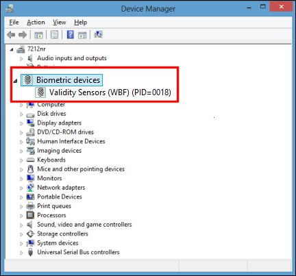 HP VALIDITY SENSOR DRIVER DOWNLOAD FREE