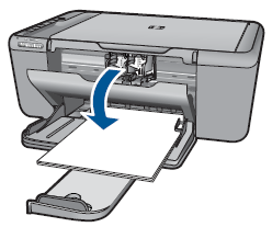 Illustration of opening the cartridge access door