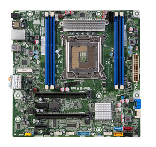 Pittsburgh2 motherboard top view