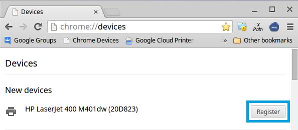 Setup cloud print google chrome — photo 2