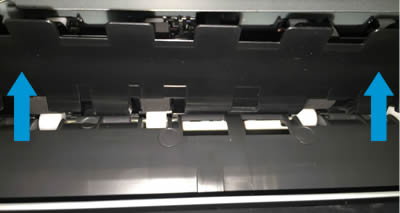 HP OfficeJet 6900 Printers - A 'Paper Jam' Error Displays