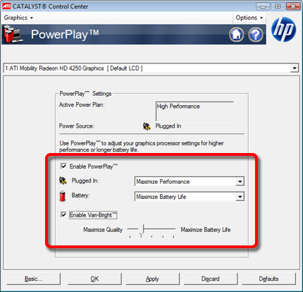 Hp switchable graphics driver download.