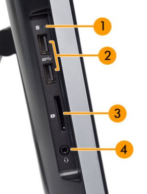 EvolverNT left I/O ports