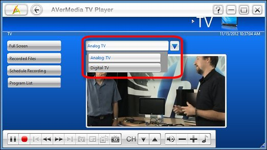 avermedia tv player