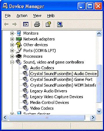 Asonic Crystal WDM Audio Codec Drivers for Windows 7