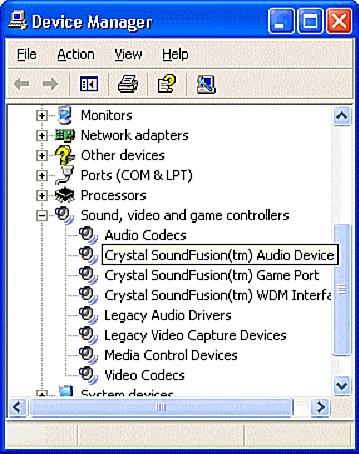 Asonic Crystal WDM Audio Codec Drivers for Windows 7