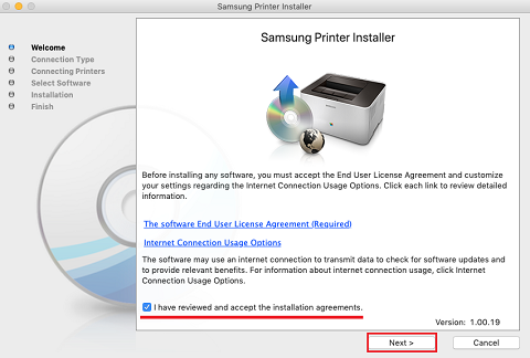 Samsung Laser Printers - How to Install Drivers/Software