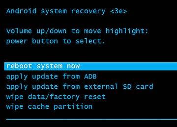 Reiniciar sistema ahora