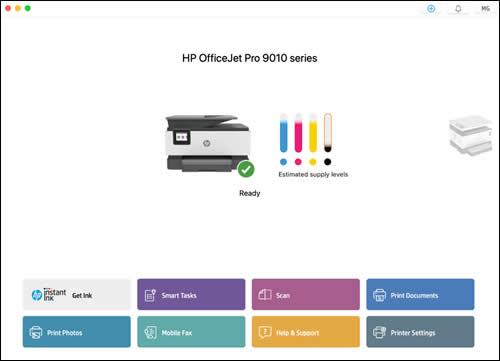 hp scan software mac