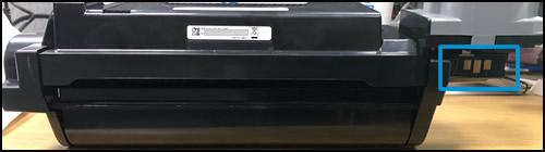 Проверка микросхемы памяти барабана переноса изображений на наличие повреждений