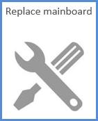 Replace main board