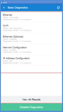 Check network status