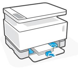 Сдвигание направляющих бумаги