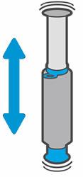 Встряхивание комплекта загрузки тонера